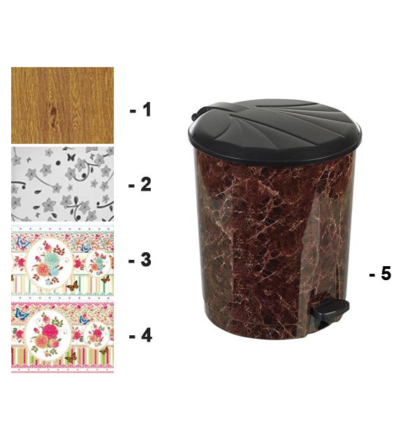 Πλαστικός κάδος απορριμάτων 13 lt