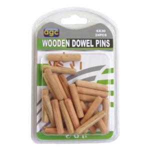 Σετ 24 ξύλινες καβίλιες Ø6mm [30601263]