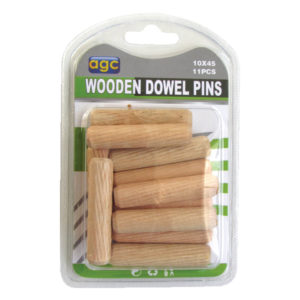 Σετ 11 ξύλινες καβίλιες Ø10mm [30601265]