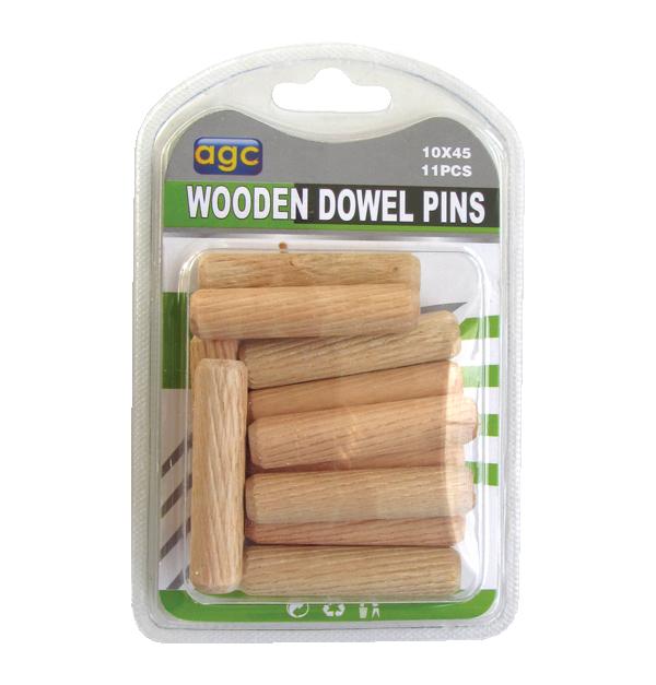 Σετ 11 ξύλινες καβίλιες Ø10mm
