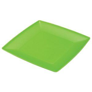 Πλαστικό τετράγωνο πιάτο φρούτου [70701202]