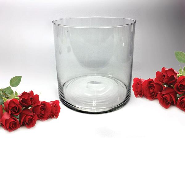 Γυάλινο βάζο Φ20cm x Υ20