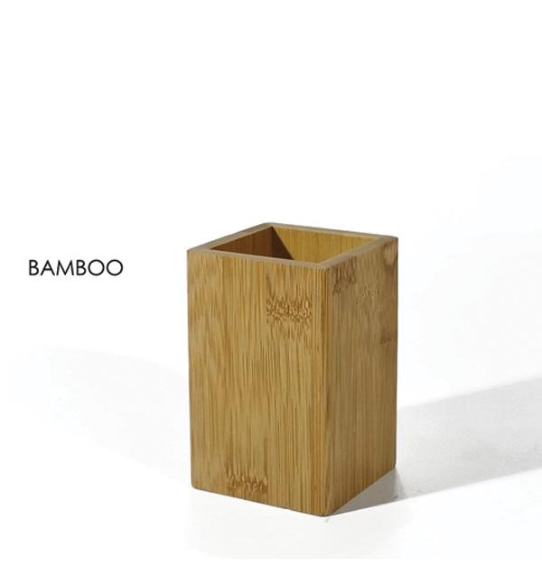 Θήκη για οδοντόβουρτσες απο bamboo