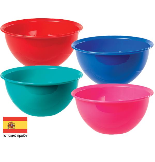 Πλαστικό μπόλ 0,6 lt σε διάφορα χρώματα