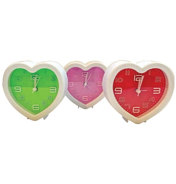 Επιτραπέζιο ρολόϊ ξυπνητήρι καρδιά