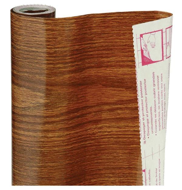 Αυτοκόλλητο ρολλό συρταριού - απομίμηση ξύλου