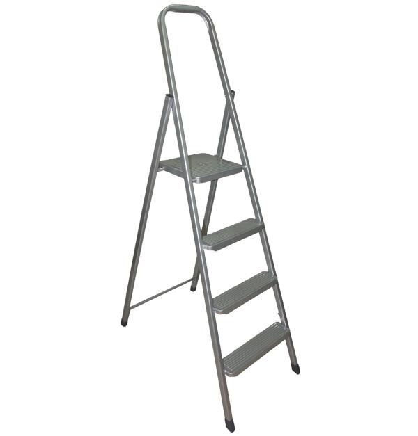 Μεταλλική σκάλα με 3+1 σκαλοπάτια