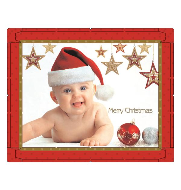 Σετ 10 χάρτινα Χριστουγεννιάτικα κουτιά αποθήκευσης