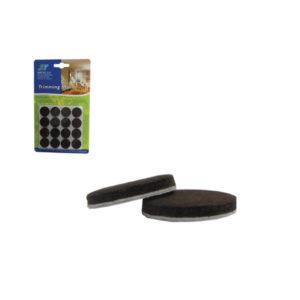 Σετ 32 στρογγυλά αυτοκόλλητα προστατευτικά τσοχάκια επίπλων [30501216]