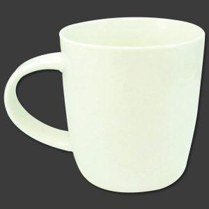 Λευκή πορσελάνινη κούπα 9 cm