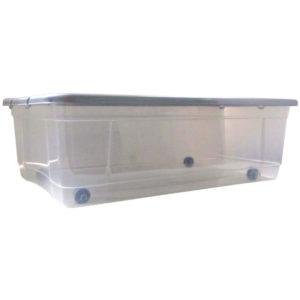Πλαστικό κουτί αποθήκευσης 32lt με ρόδες [70101673]