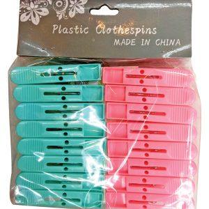Σετ 16 χρωματιστά πλαστικά μανταλάκια [00403068]