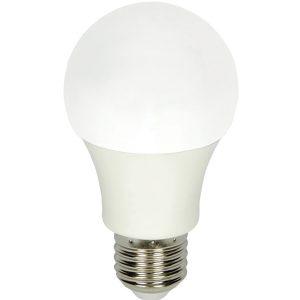 Λευκή βιδωτή λάμπα led γλόμπος 9W 6000K [70701057]
