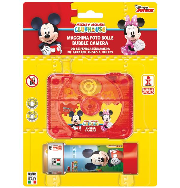 Κάμερα σαπουνόφουσκα Mickey & Minnie