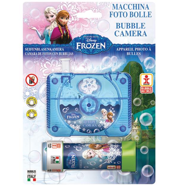 Κάμερα σαπουνόφουσκα Frozen