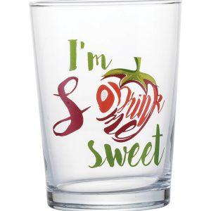 Σετ 3 γυάλινα ποτήρια νερού Drink Me 51cl
