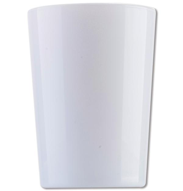Λευκό γυάλινο ποτήρι νερού 51cl