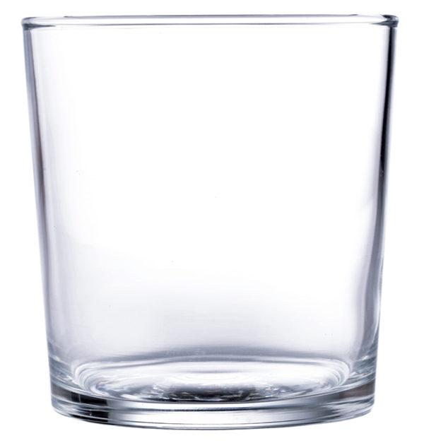 Διάφανο γυάλινο ποτήρι νερού 37cl