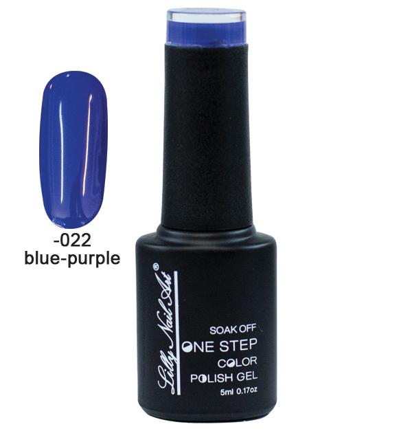 Ημιμόνιμο μανό one step 5ml - Blue-purple