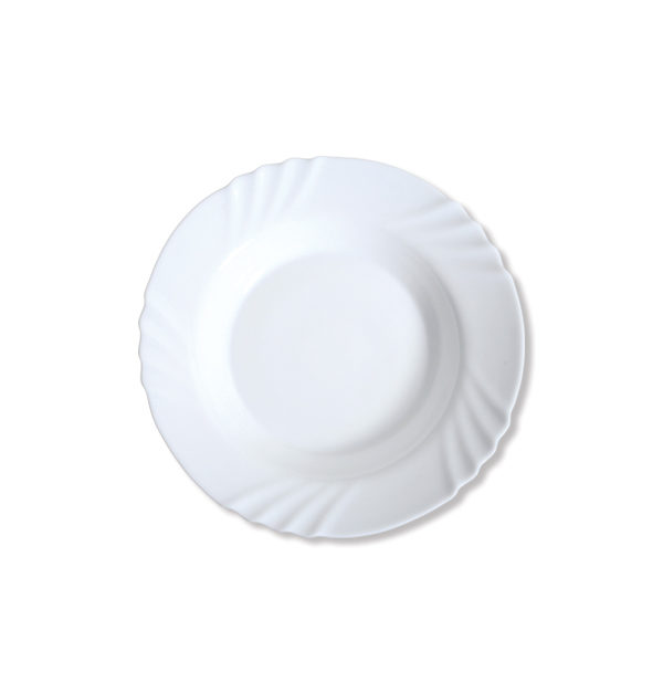 Στρογγυλό πιάτο σούπας οπαλίνα 23cm [00204004]
