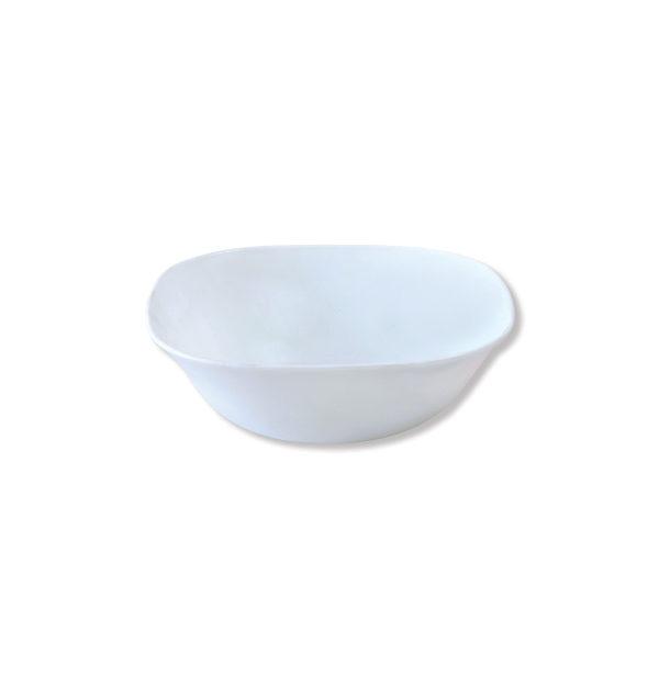 Τετράγωνη σαλατιέρα οπαλίνα 23 cm [00204015]